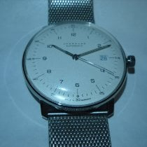 Junghans max bill Automatic Acier 38mm Blanc Arabes