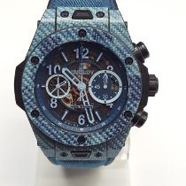 Hublot Big Bang Unico Carbon 45mm Blue Arabic numerals