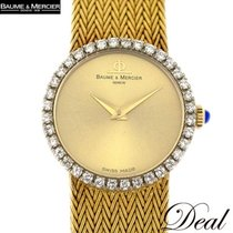 Swatch Yellow gold Manual winding Gold 24mm pre-owned