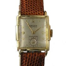Gruen Gold/Steel 23mm Manual winding antik pre-owned