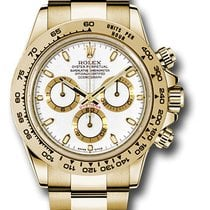 Rolex 116508 Cosmograph Daytona 18K Yellow Gold Unisex Watch