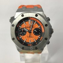 Audemars Piguet Steel Automatic 42mm new Royal Oak Offshore Diver Chronograph