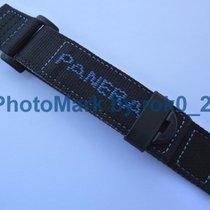 Panerai Genuine  Fabric Nylon Canvas Diver 24mm Black/Blue...
