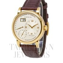 A. Lange & Söhne Yellow gold Automatic Silver 39.5mm new Lange 1