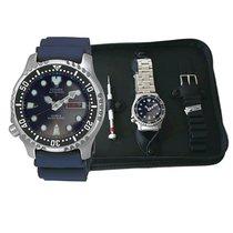 Citizen NY0040-17LEM gift set Promaster Automatic Diver 200m