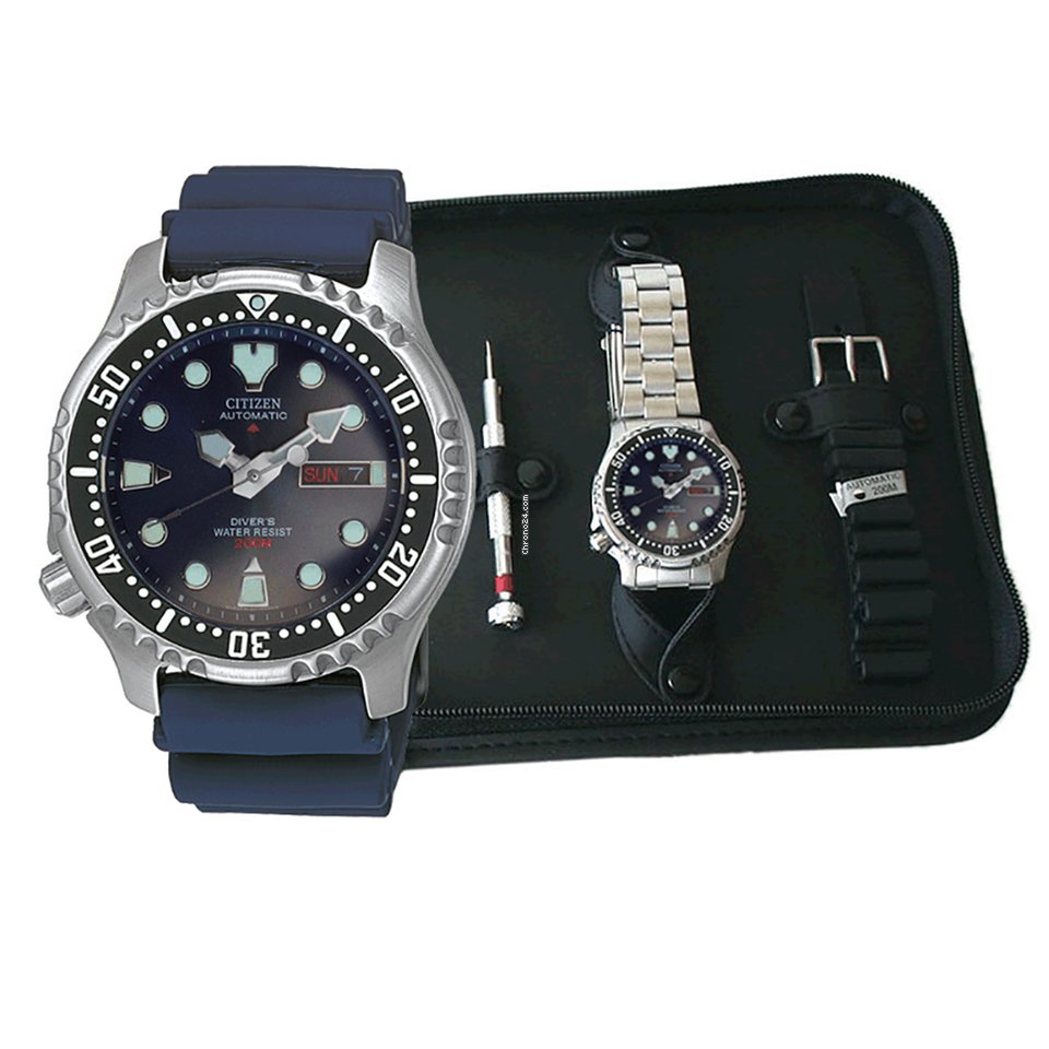 Citizen NY0040-17LEM gift set Promaster Automatic Diver 200m for Rs ... a215f67906