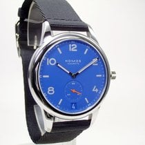 NOMOS Club Automat Datum Steel 41,5mm Blue Arabic numerals