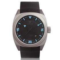 Longio Titanium Automatic Black Arabic numerals 42mm new