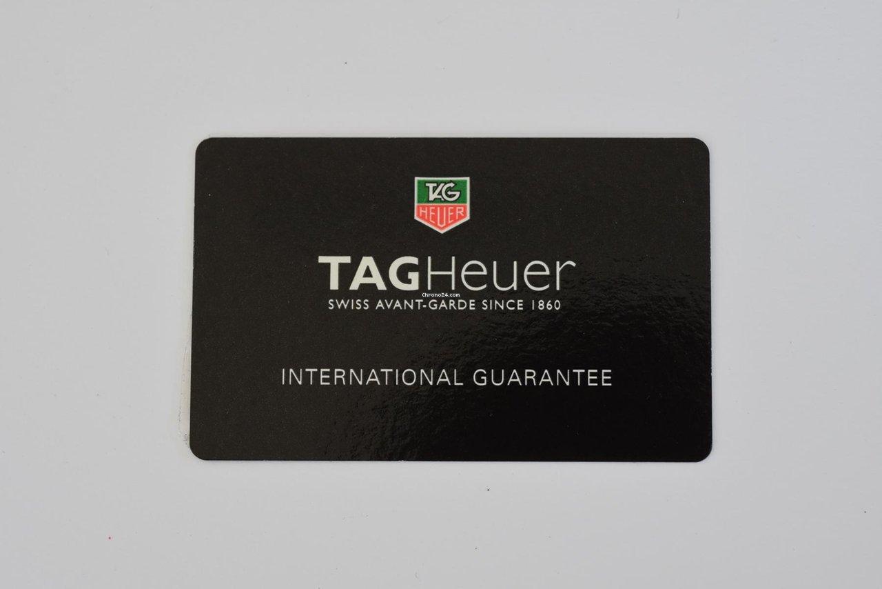 TAG Heuer Aquaracer WAJ8 Warranty Card Garantiekarte