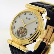 Gérald Genta Yellow gold Automatic White Roman numerals 35mm pre-owned