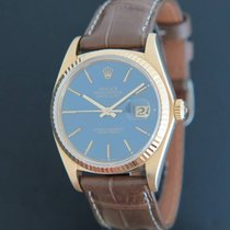 Rolex 16018 Geelgoud 1979 Datejust 36mm tweedehands Nederland, Maastricht