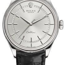 Rolex Cellini Time Bjelo zlato 39mm Bjel