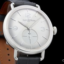 Bell & Ross Vintage BRWW1-ME-AG-SI-SCR new