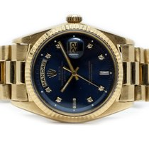 Rolex Day-Date (Submodel) brugt 36mm Gult guld