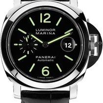 Panerai Steel Manual winding Black Arabic numerals 44mm new Luminor 1950 8 Days GMT
