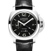 Panerai Luminor 1950 8 Days GMT new 2020 Manual winding Watch with original box and original papers PAM 00233