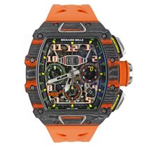 Richard Mille RM 011 Carbono 49.94mm Transparente Árabes