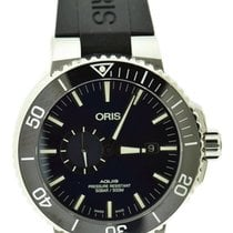 Oris Aquis Small Second Steel 45.5mm Blue United States of America, New York, New York