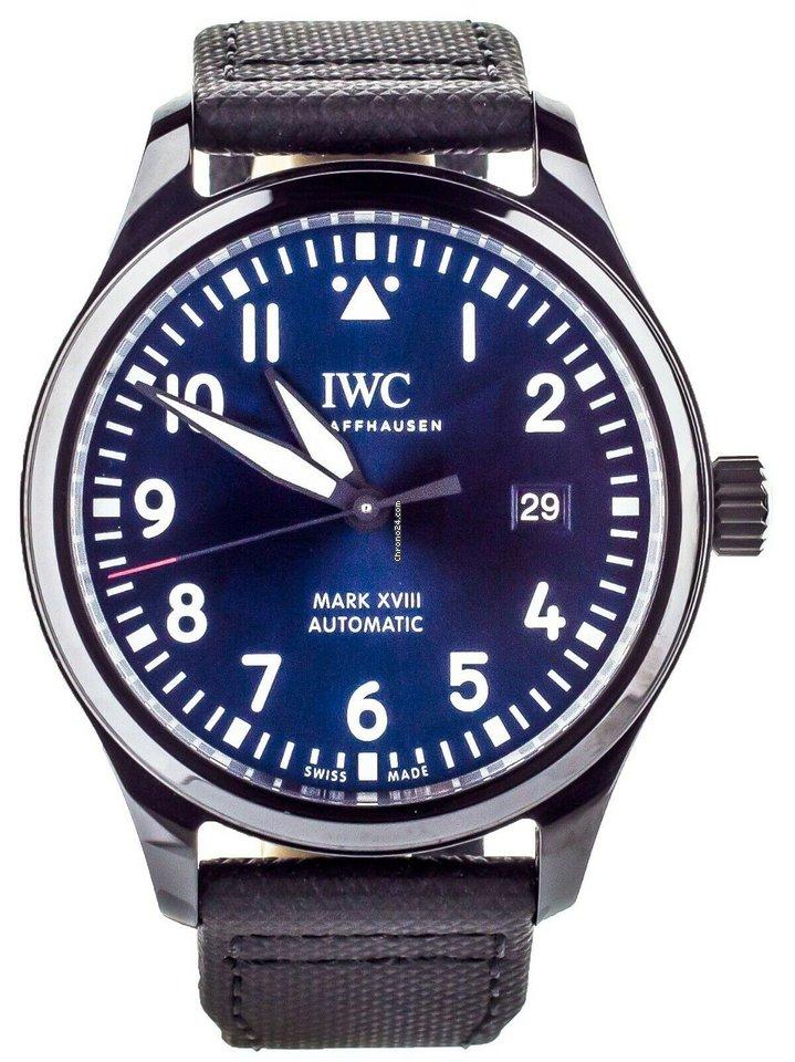 10f09dda4d8 IWC Pilot Mark Xviii Laureus Sport Ceramic Blue Dial Full Set... por 5.143  € para vender por um Trusted Seller na Chrono24