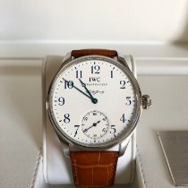 IWC Portuguese Hand-Wound nieuw 43mm Staal