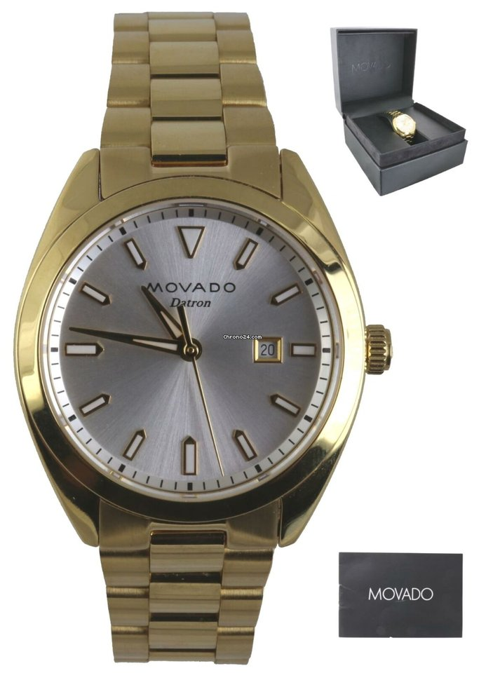 c7838120f Movado Ladies Movado Heritage Series Datron Gold Plated Quartz... for $294  for sale from a Trusted Seller on Chrono24