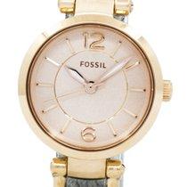 Fossil Gold/Steel 26mm Quartz ES3862 new