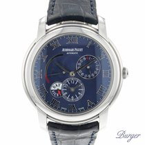 Audemars Piguet Jules Audemars Steel 42.5mm Blue Roman numerals