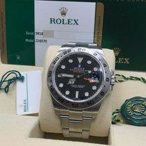 Rolex Explorer II 216570 2017 pre-owned
