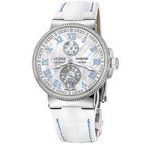 Ulysse Nardin Marine Chronometer Manufacture 43mm Автоподзавод новые Часы с оригинальными документами и коробкой