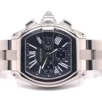 Cartier Roadster Steel 43mm Black Roman numerals United States of America, New York, New York