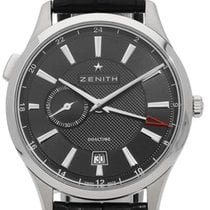 Zenith Elite Dual Time Steel 40mm