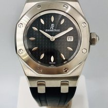 Audemars Piguet Royal Oak Lady Staal 33mm Zwart