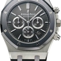Audemars Piguet Royal Oak Chronograph Acero 41mm Gris Sin cifras
