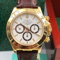 Rolex Daytona 16518 Πολύ καλό Κίτρινο χρυσό 40mm Αυτόματη
