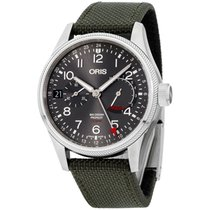 Oris Big Crown ProPilot Calibre 114 Steel 44mm Grey Arabic numerals United States of America, New Jersey, Somerset