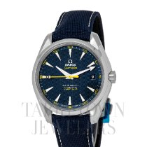 Omega Seamaster Aqua Terra Steel 41.5mm Blue United States of America, New York, Hartsdale
