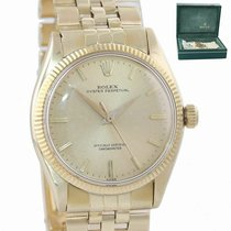 Rolex Yellow gold Automatic Gold 34mm pre-owned Oyster Perpetual 34