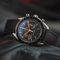 Omega Speedmaster Racing Steel 44.2mm Black No numerals United States of America, Texas, Austin