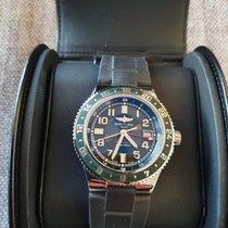 Breitling Superocean GMT Acero 41mm Negro Arábigos