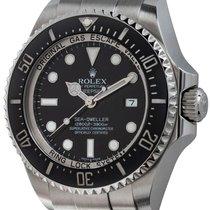 Rolex Acero Automático Negro 44mm usados Sea-Dweller Deepsea