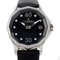 Corum new Automatic Display Back Luminescent Hands Screw-Down Crown 38mm Steel Sapphire crystal