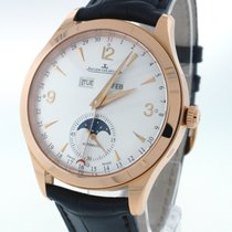 Jaeger-LeCoultre Master Calendar Rose gold 39mm Silver Arabic numerals United States of America, New York, Greenvale