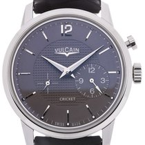 Vulcain 50s Presidents Watch 42 Automatic Grey Dial
