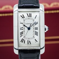 Cartier W2605596 American Tank XL White Gold (25435)