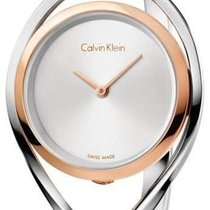 ck Calvin Klein Steel 29mm Quartz S K6L2SB16 new