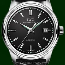 IWC Ingenieur 3233 Automatic 42mm Date Black Dial Box&Papers