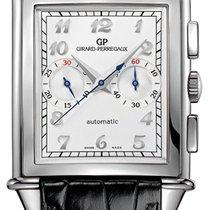 Girard Perregaux Vintage 1945 Steel 37mm Silver Arabic numerals
