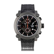 Longio Titanium Automatic Black No numerals 45mm new