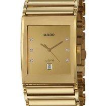 Rado Integral Jubile Men's Gold Diamond Quartz Watch R20863732...