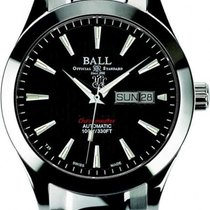 Ball Engineer II Chronometer Red Label Stahl 40mm Schwarz